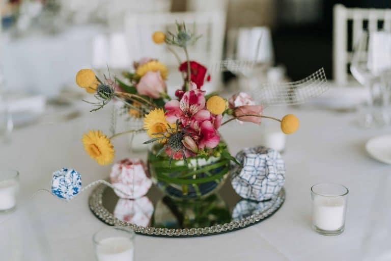 Unique Table Centrepiece Taronga Centre Wedding