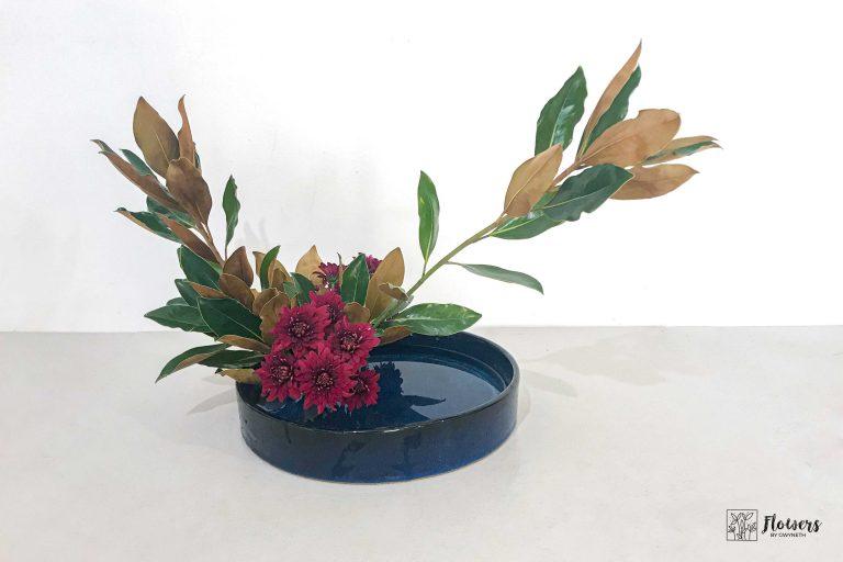 Ikebana helps you feel calm