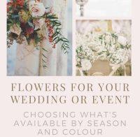 Popular Flowers in Season in Australia for Weddings