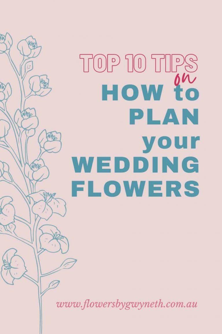 Plan Your Wedding Flowers