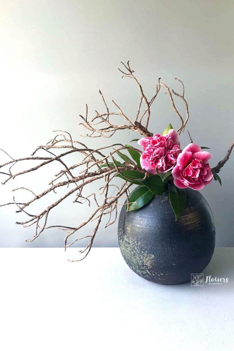 ikebana calming hobby