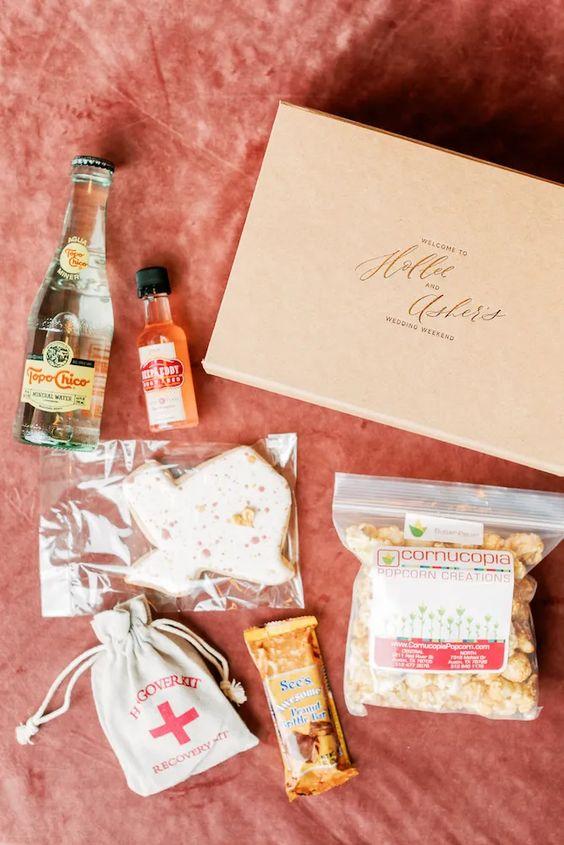 Wedding Guest Gift Box