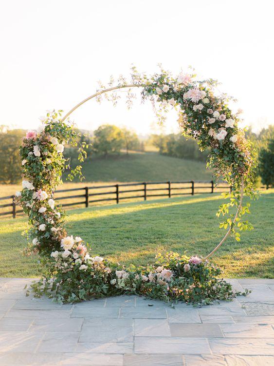 Circle Floral Arbour