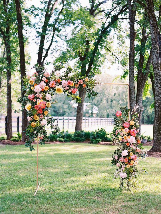 Floral Arch Metal Frame