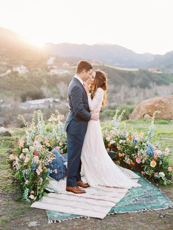 Ground Wedding Florals