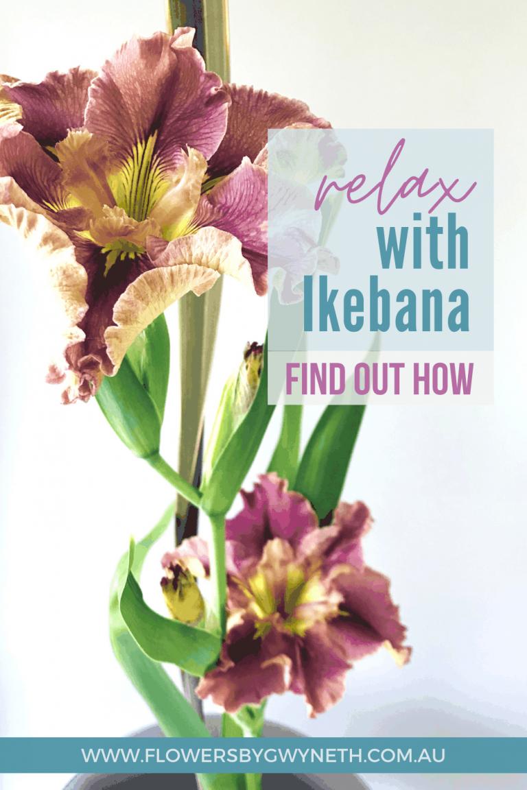 ikebana calming hobby to relax